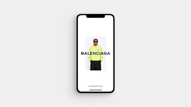Balenciaga Stylist App