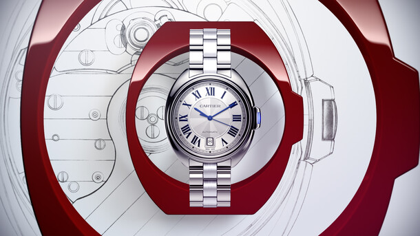 Cartier - Montre Clé