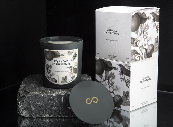 Collection de Bougies parfumées Sylvaine Delacourte