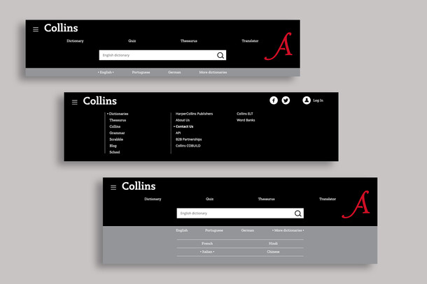 Collins ● Website