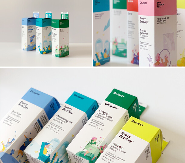 Dr. Jart+ Packaging