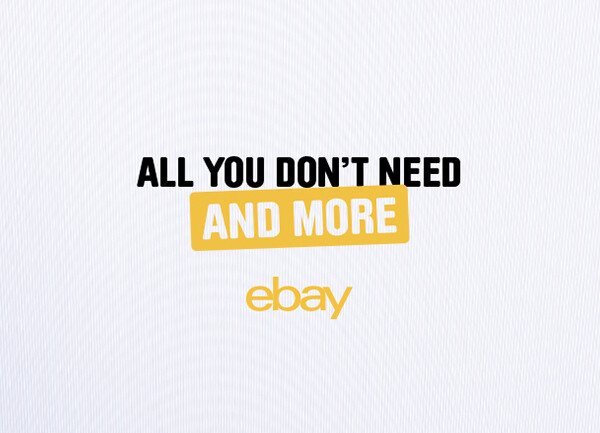 eBay - All you don't need and more