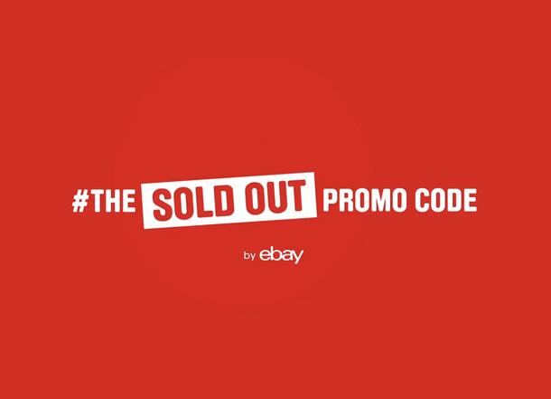 eBay #TheSoldOutPromoCode