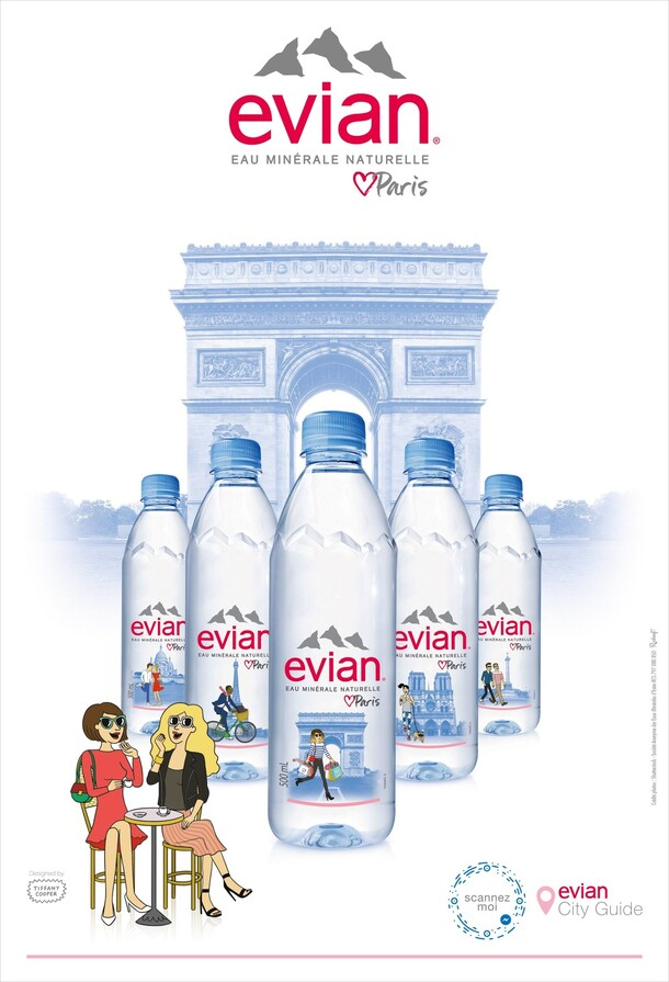 Evian Loves Paris