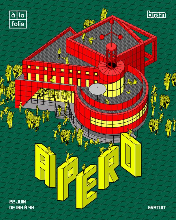"""Flyer """"Apéro"""""""
