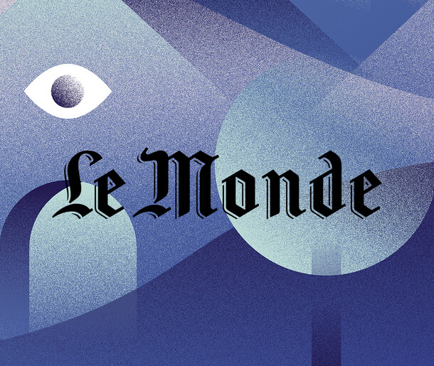 Newspaper Le Monde / Press Illustrations