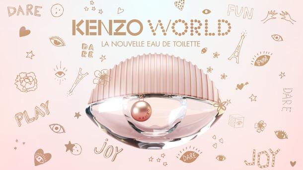 Kenzo World - La nouvelle Eau de Toilette