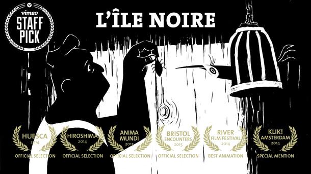 """""""L'Île Noire"""" Animated shortfilm"""
