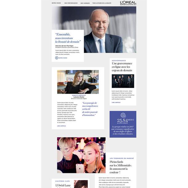 l'Oréal | Rapport Annuel