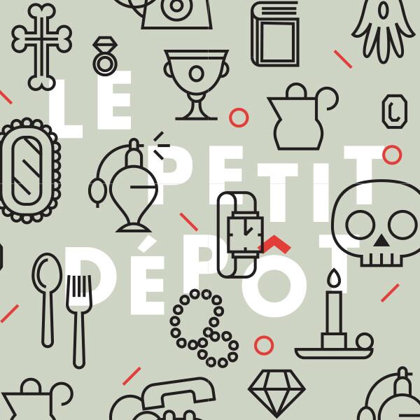 Le Petit Dépôt : branding & site