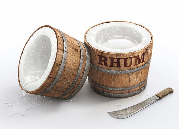 Malibu - La fusion Rhum & Coco