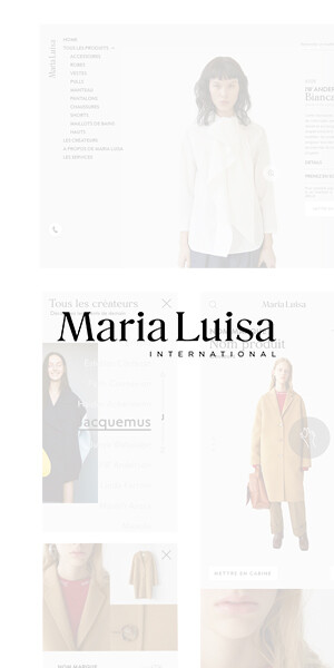 Maria Luisa Website