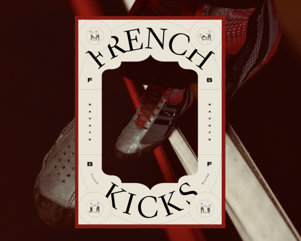 Branding for a french boxing champion