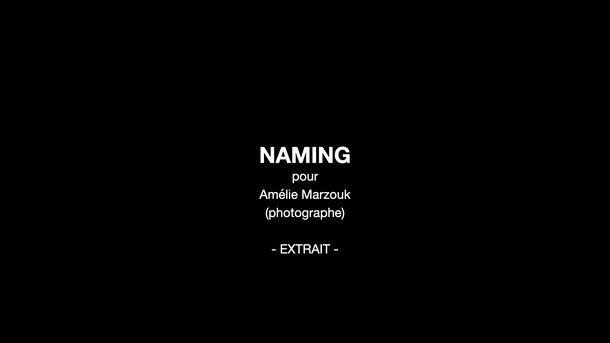 Naming / studio photo