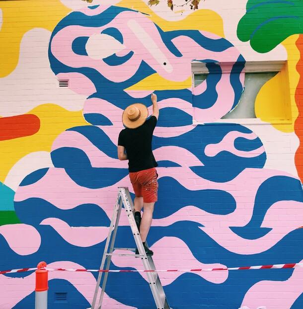 Perth Mural
