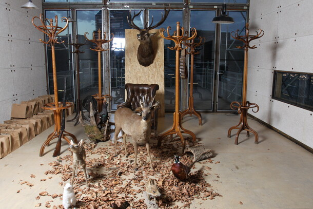 Scénographie Aberlour Hunting Club