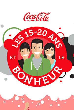 Coca-Cola France - Les 15-20 ans et le bonheur