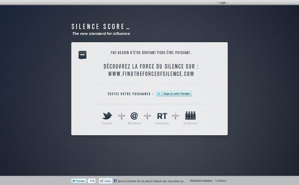 ROWENTA // Silence Score