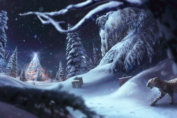 Cartier Winter Tale - Concept