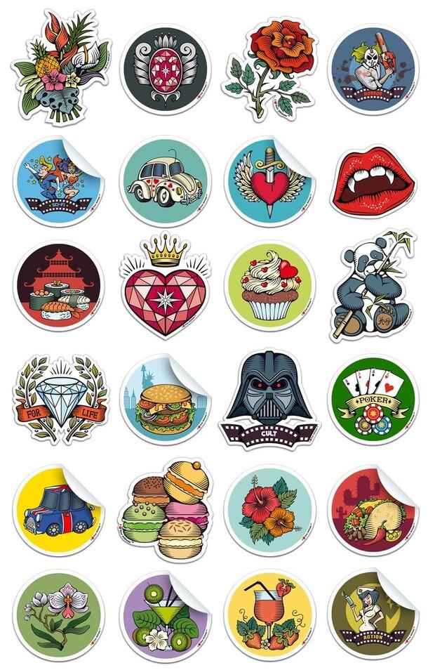 Stickers ILYA