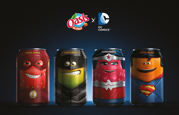 OASIS & DC COMICS // Cans Collector