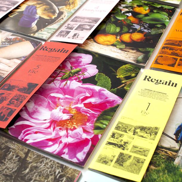 Regain magazine