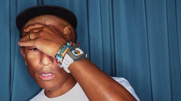 Richard Mille // Pharrell W