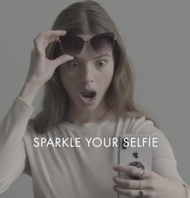 SWAROVSKI / SPARKLE YOUR SELFIE