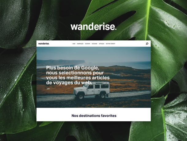 Wanderise - simply prepare your trips