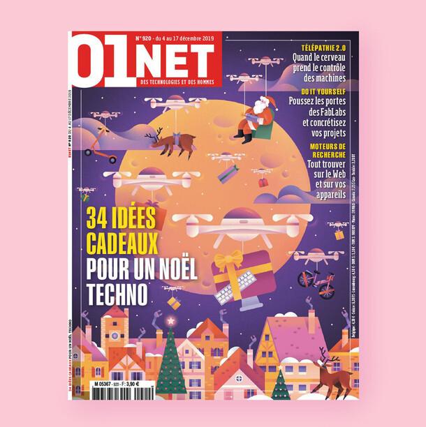 01 Net Magazine / Edition n°920 Décembre '19