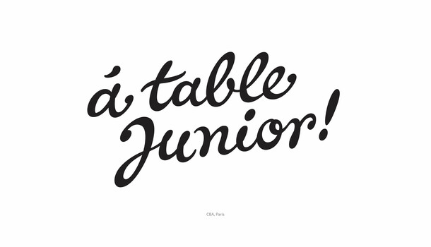 à table Junior