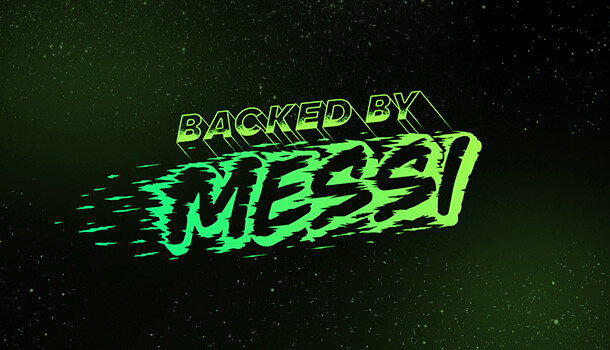 ADIDAS - BACKED BY MESSI