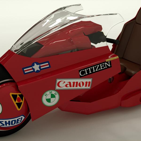 AKIRA - KENEDA'S BIKE 3D