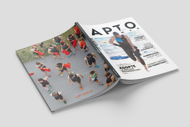 APTONIA : Graphic design and art direction / Magazine Apto'Mag