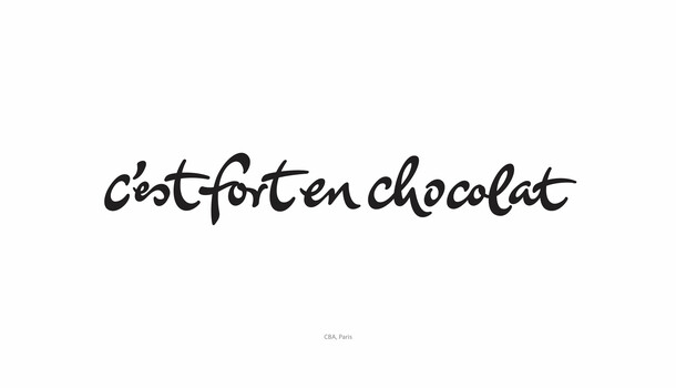 c'est fort en chocolat