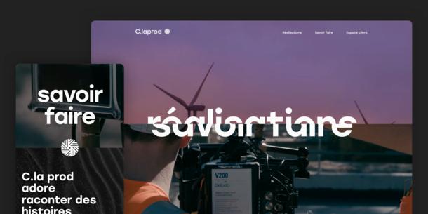 C' la Prod web design