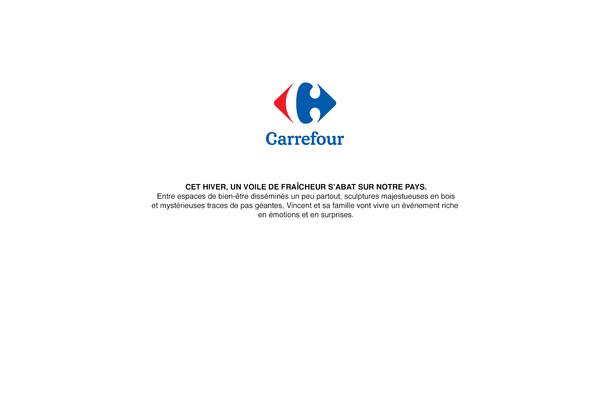 CARREFOUR - ACTIVATION HIVER