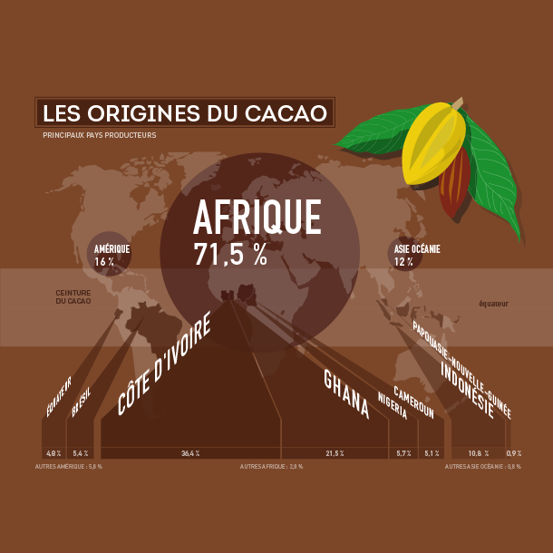 Chocolat : un goût amer