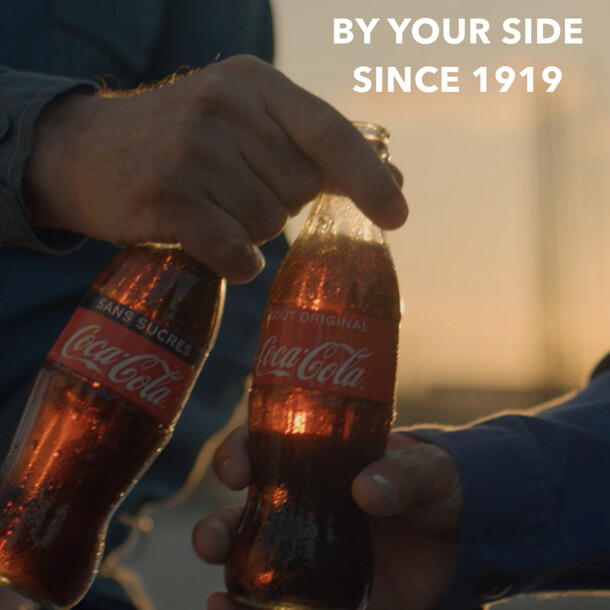 COCA-COLA - By Your Side Since 1919