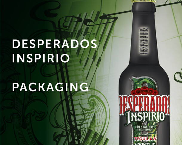 Desperados Inspirio - Packaging