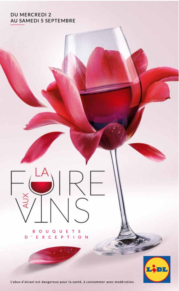 Édito Foire aux vins | LIDL