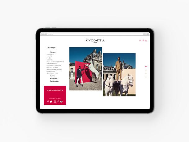 VICOMTE A. online shop