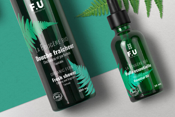F.U Organic Cosmetic  : Graphic design + Package design