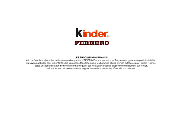 FERRERO. KINDER - ACTIVATION DIGITALE