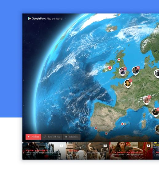 Google Play the world