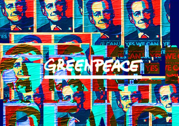 Greenpeace - SARKOBAMA