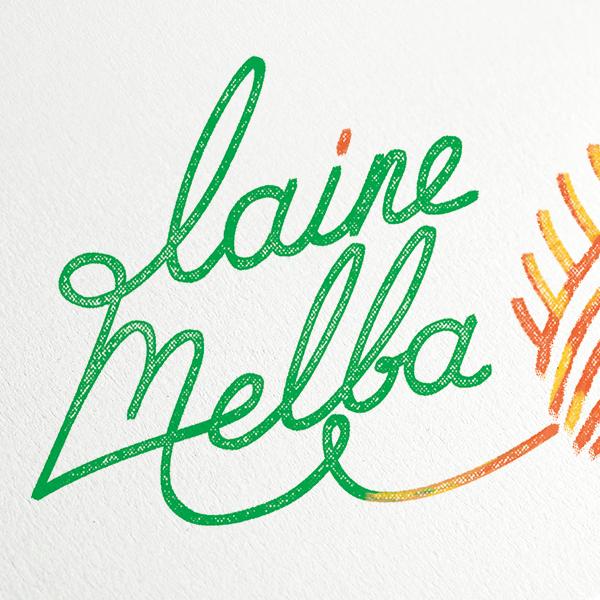 LAINE MELBA - IDENTITÉ GRAPHIQUE