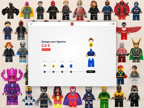 Lego- Configurateur + fiche produit