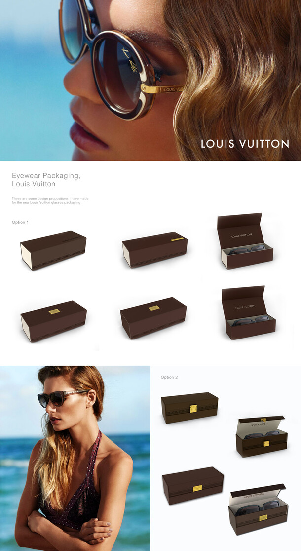 Louis Vuitton Glasses Packaging