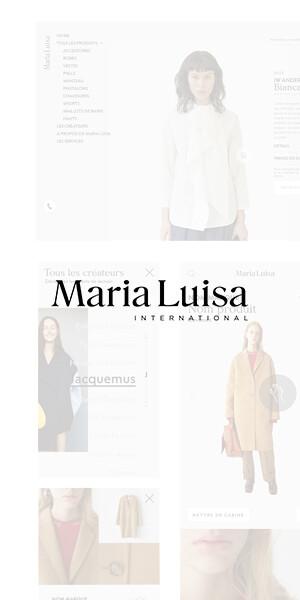 Maria Luisa Website